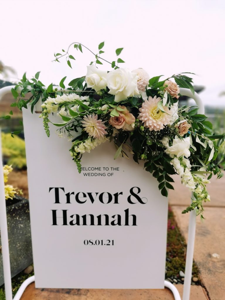 sign flowers