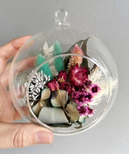 dried flower orb